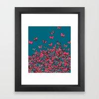 Flutterflies Framed Art Print