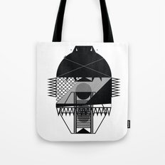 Make Things Slithy Different_the Mask Tote Bag