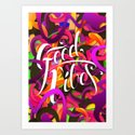 Good Vibes (Feat. Roberlan Borges) Art Print