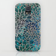 Floral Abstract 4 Galaxy S5 Slim Case