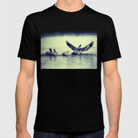 Spread Your Wings Mens Fitted Tee Black SMALL