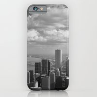 chicago iPhone & iPod Cases featuring chicago... by Chernobylbob