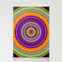 Colourful Pattern Mandala Stationery Cards