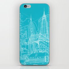 New York! Blueprint iPhone & iPod Skin