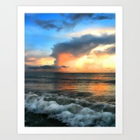 Madeira Beach Sunset 2 Art Print
