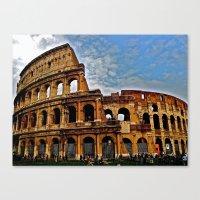 Do As The Roman's Do Canvas Print