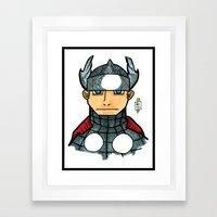 thorrific Framed Art Print