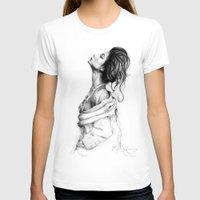 lady gaga T-shirts featuring Pretty Lady Illustration by Olechka