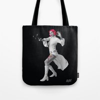 Princess Leia Strikes Back Tote Bag