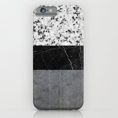 Marble, Granite, and Concrete Abstract Slim Case iPhone 6s