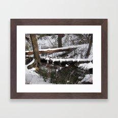 Winter's Light Framed Art Print
