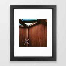 Cabin Ceiling  Framed Art Print
