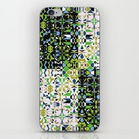 Patchwork 1 iPhone & iPod Skin