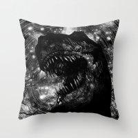 RAWR!!!!!!!!!!!!!!! Throw Pillow