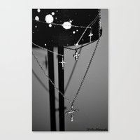 Crossing. Canvas Print