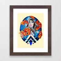 Nautical Spring Framed Art Print