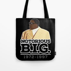 Christopher 'Notorious B.I.G.' Wallace Tote Bag