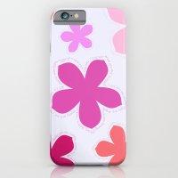 Anohana Flowers iPhone 6 Slim Case