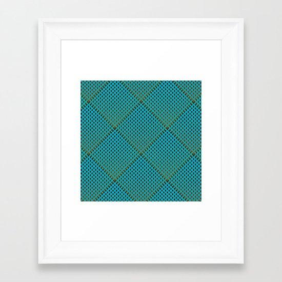 I_Like_Pattern n°1 Framed Art Print