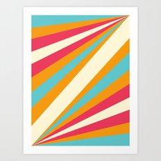 Diagulous Series: Sunnyside Art Print