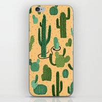 The Snake, The Cactus An… iPhone & iPod Skin