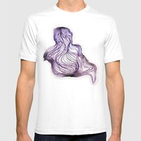 COLOIDE Mens Fitted Tee White SMALL