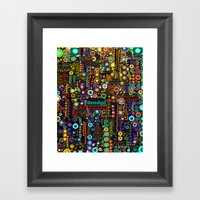 :: Chi-Town :: Framed Art Print