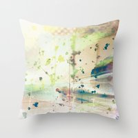 cantremember Throw Pillow