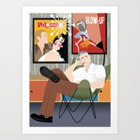 Movie Buff for Handsome Devil Press Art Print
