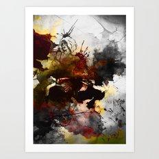 Ink, Love Art Print