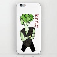 Sebastian Bok Choy iPhone & iPod Skin