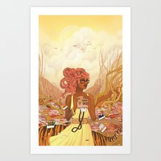 The Memories We Create Art Print