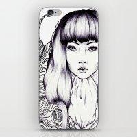 Tree Woman iPhone & iPod Skin