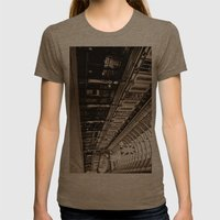Leadenhall Market London Womens Fitted Tee Tri-Coffee SMALL