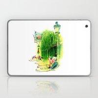 Cafe in Bruges Laptop & iPad Skin