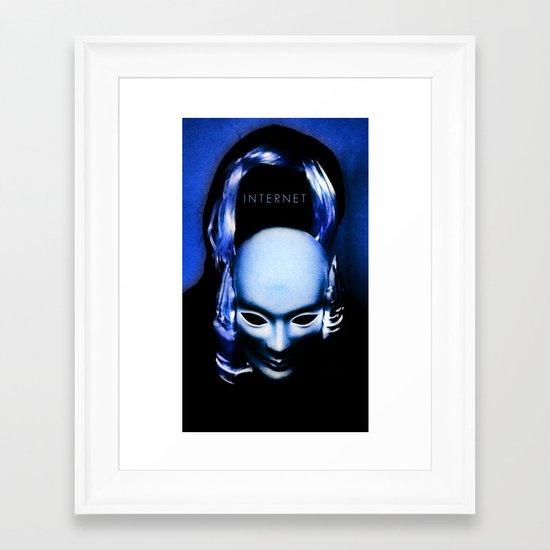 internet Framed Art Print
