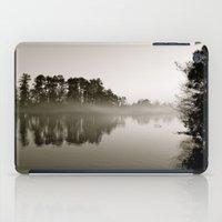 Misty Lake B&W iPad Case