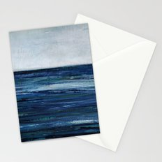 abstract seascape Stationery Cards
