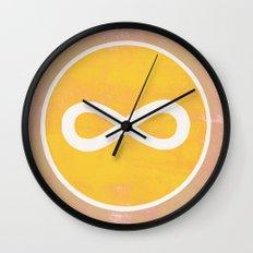 infinity 1 Wall Clock
