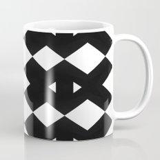 Branting Black & White Pattern Mug