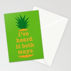I've Heard It Both Ways Stationery Cards