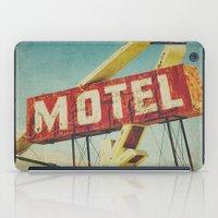 Thrashed Motel Sign iPad Case