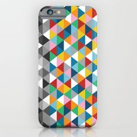 iPhone & iPod Case featuring Triangles with Topper by Project M