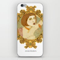 Smoked Fish (Anniestration Logo) iPhone & iPod Skin