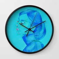 Breakfast With Elegance Wall Clock