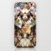Cat Kaleidoscope iPhone 6 Slim Case