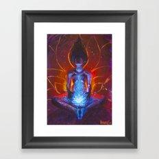 Womb Bloom Framed Art Print