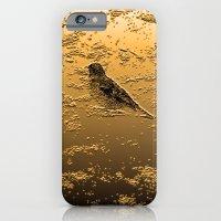 iPhone & iPod Case featuring Bird on the Beach by AZerhusen