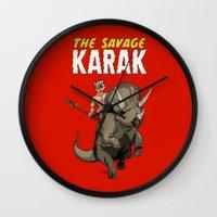 The Savage KARAK, King O… Wall Clock