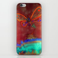 Bad Ash Mothra Funker Full (Wobblesauce) iPhone & iPod Skin